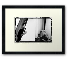 far away, so close (voile d'ombre)  Framed Print