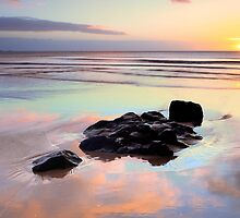 Black & Pastel at Godfrey's Beach by Garth Smith
