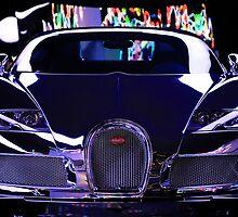 Bugatti, Veyron by Geoff Dunn