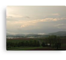 Subsequential to Substantial Spring Showers Canvas Print