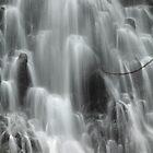 Kaporai Falls in Pohnpei by John Marelli