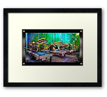 Tuff Field Framed Print