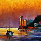 TRIESTE GULF - OIL PAINTING BY LEONID AFREMOV by Leonid  Afremov