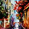 MORNING IN VENICE - OIL PAINTING BY LEONID AFREMOV by Leonid  Afremov