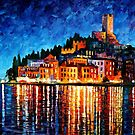 ITALY - VERONA - OIL PAINTING BY LEONID AFREMOV by Leonid  Afremov