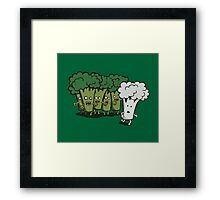 I Am Cauliflower Framed Print