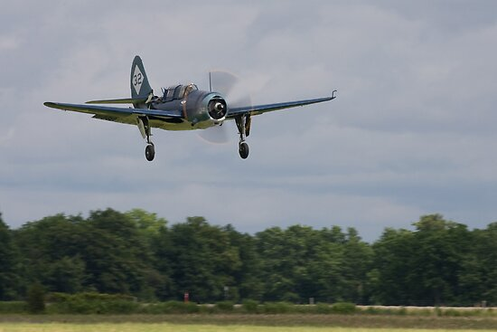 Curtis SBSC Helldiver by Mark  Spowart