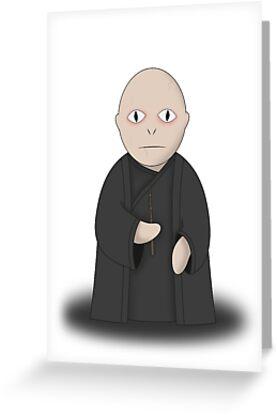 Cartoon Voldemort by EF Fandom Design