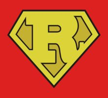 Super Bold & Gold R Logo by adamcampen