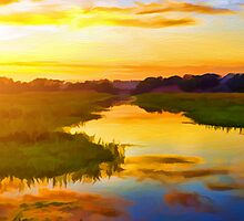 Ballona Wetlands by David Rozansky