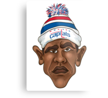 President is a Caps Fan Metal Print