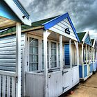 Beach Huts by Kim Slater