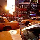 New York Taxi by GreyCard