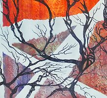 iPhone Case of painting...99.9 degrees... by linmarie
