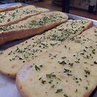 Garlic Bread with Parsley Topping by SheilaBailey