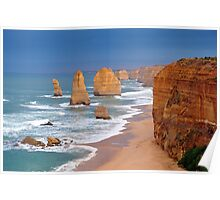 Twelve Apostles. Port Campbell National Park, Victoria, Australia. Poster