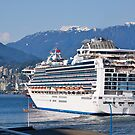 Departing Vancouver, Princess Cruise, 2012. by johnrf