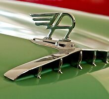1957 Austin Cambrian 4 Door Saloon Hood Ornament  by Jill Reger