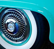 1959 Ford Ranchero Wheel Emblem by Jill Reger