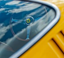 1967 Ferrari 275 GTB4 Steering Wheel by Jill Reger
