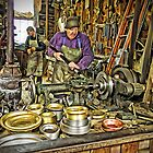 The Brass Turner At Work (Pentax k-r) by TonyCrehan