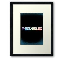 Peg-ASUS Rainbow Framed Print