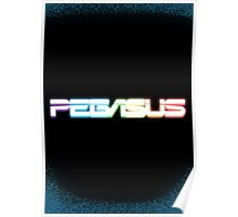 Peg-ASUS Rainbow Poster