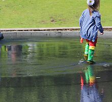 Walking on Water by KUJO-Photo