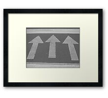 Walk This Way! Framed Print