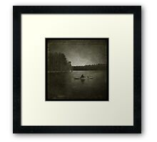 """""""Silence and solitude, the soul's best friends."""" ~Henry Wadsworth Longfellow Framed Print"""