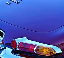 1967 Jaguar E-Type 4.2 Liter Series 1 Roadster Taillight by Jill Reger