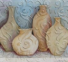 assorted vases by gregottlinger