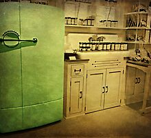 Vintage Grandma's Kitchen by Scott Mitchell