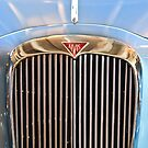 1964 Alvis TE21 Series III Drophead Coupe Grille Emblem by Jill Reger