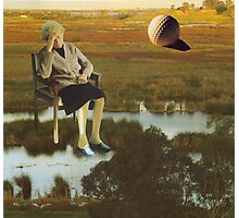 M Blackwell - The Despair That Only Enormous Golf Can Bring... Photographic Print