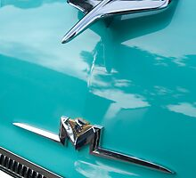 1956 Mercury Monterey Hood Ornament by Jill Reger