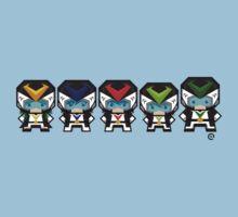 Mekkachibi Voltes Crew (Black Uniform) Kids Clothes