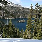 Emerald Bay in the Early Spring by Maurine Huang