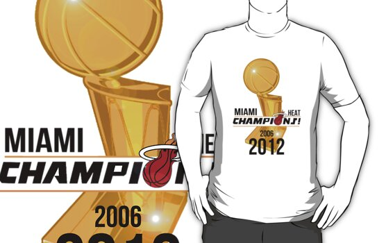 Miami Heat Champions  by Prince92