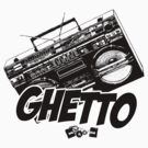 Ghetto Blaster  by Paul Welding