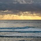 Sunset off Prevelly Beach, Western Australia by haymelter