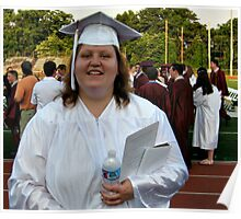 Words Can Not Express - My middle daughter who has special needs graduates from regular high school with the regular students, June 20, 2012 Poster
