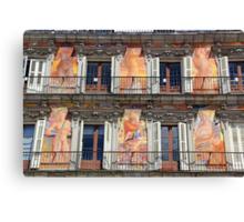 Memories of Spain 14 - Plaza Mayor Canvas Print
