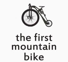 The First Mountain Bike: the mountain farthing by Nick  Taylor