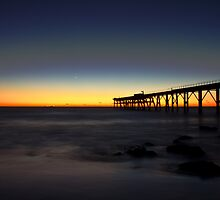Catherine Hill Bay Jetty by Steve Bass