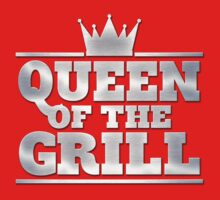 Queen of the Grill - Metal by KRDesign