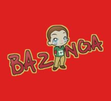 Bazinga T-Shirt by Mhaddie