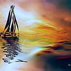 SAILING ON A SUMMER AFTERNOON by Elizabeth G. Fine Art