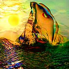 SAILING ON FLORIDA WATERS by Elizabeth G. Fine Art