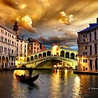 ROMANTIC VENICE by Elizabeth G. Fine Art